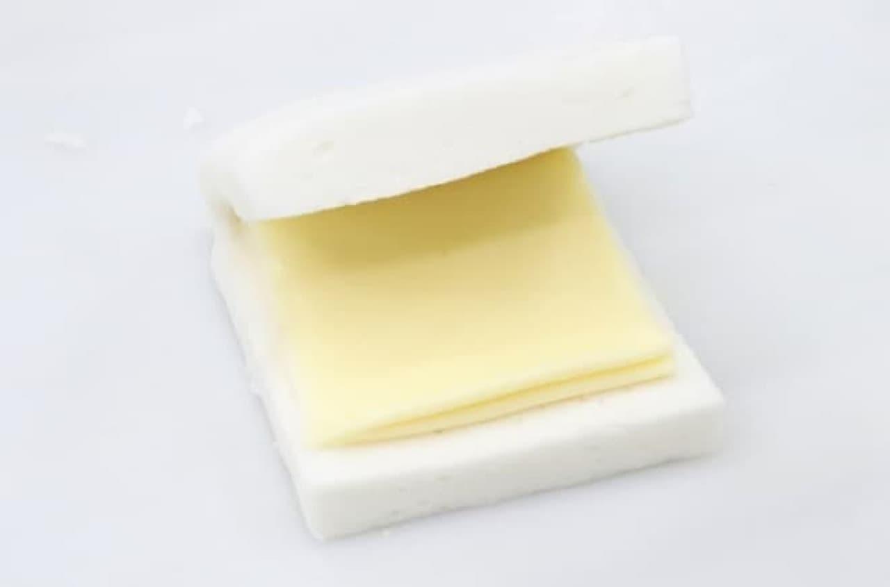 チーズを挟んだはんぺん