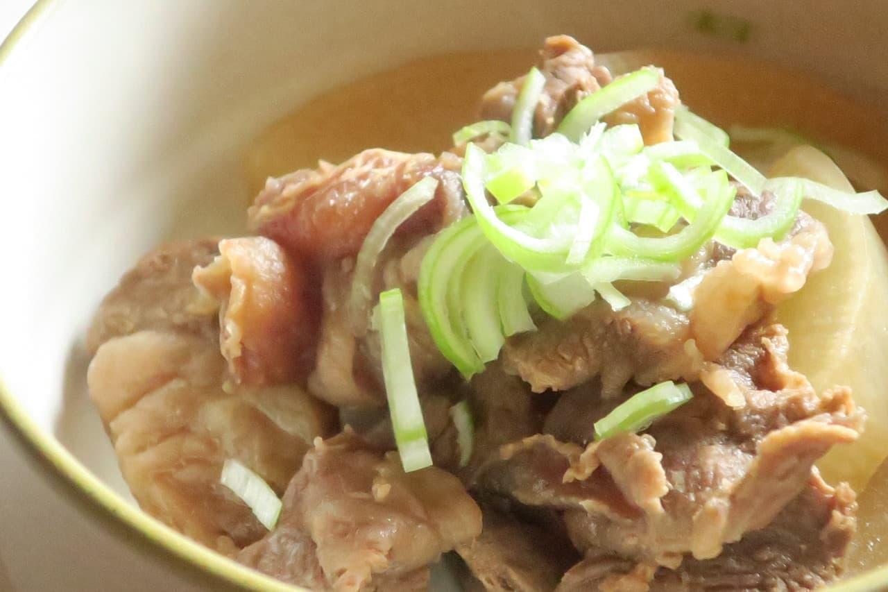 レシピ 牛 すじ 牛スジ(牛の腱)の栄養とレシピ、食品成分表