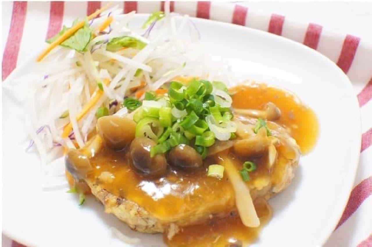 サバと豆腐のハンバーグ