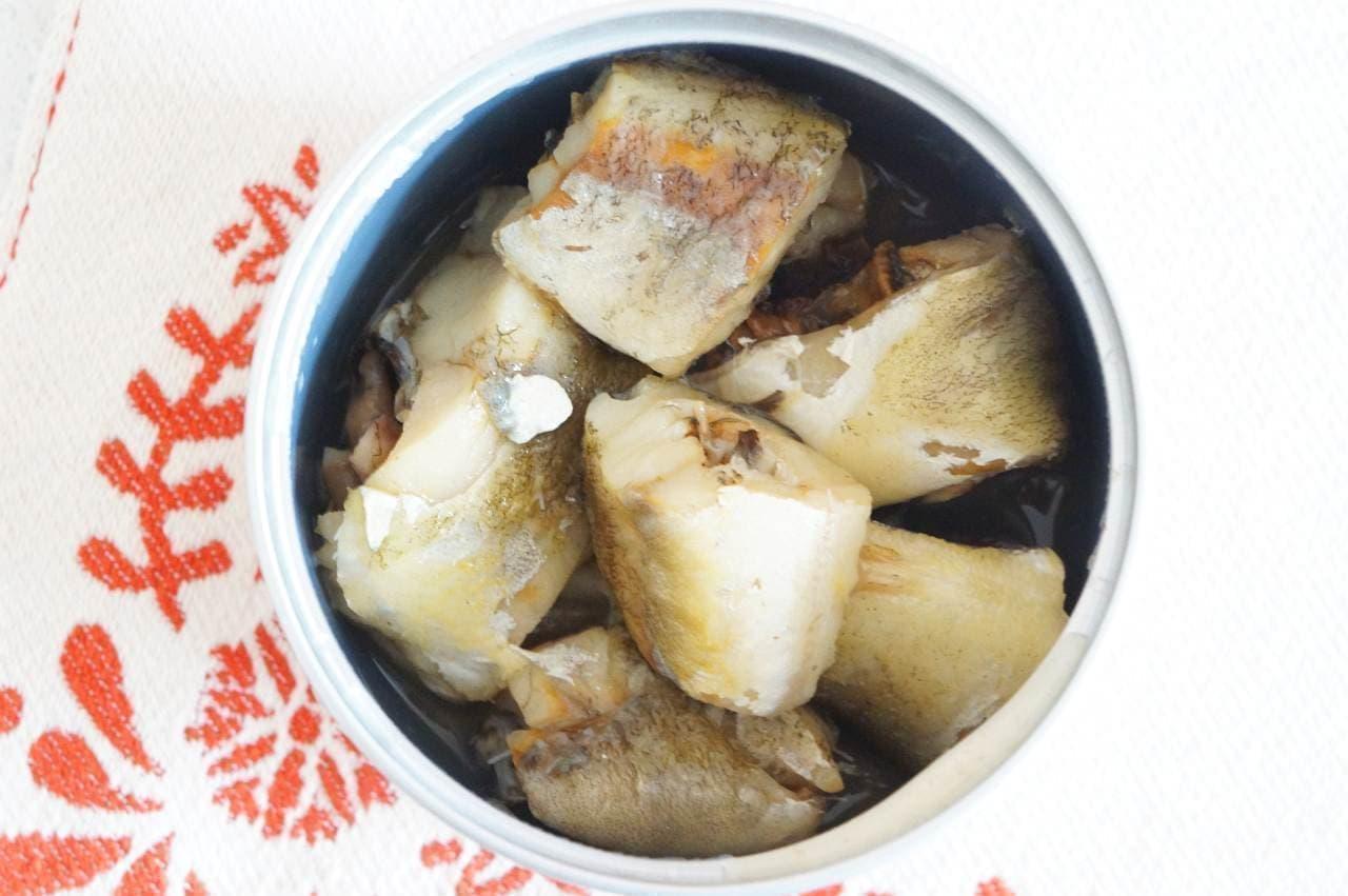 無印良品の缶詰「こまい水煮」