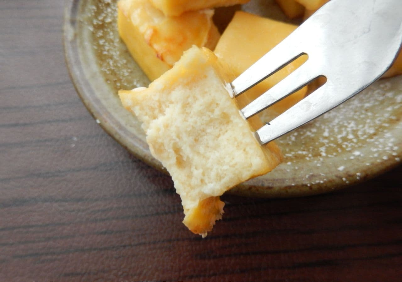 レシピ「高野豆腐のバターミルクケーキ」