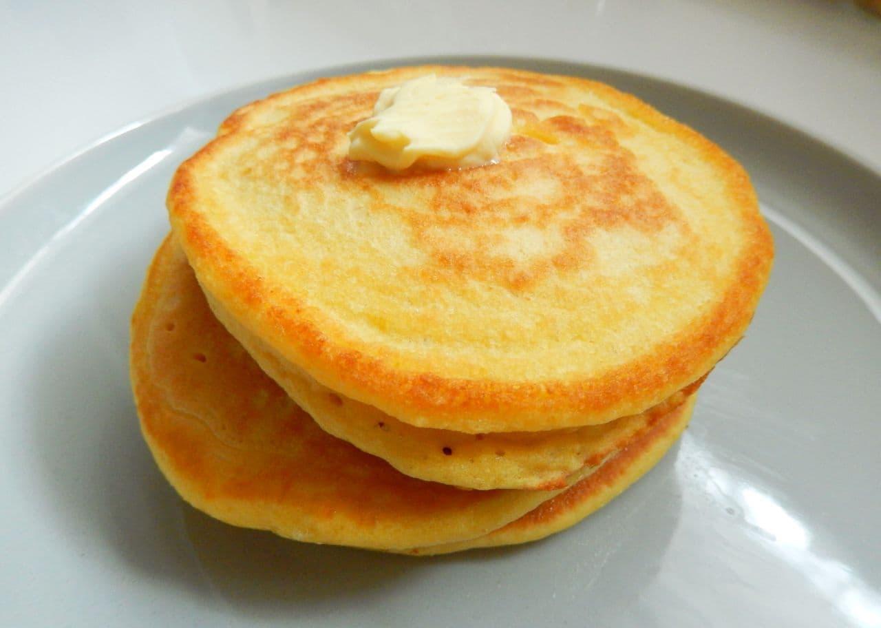 レシピ「高野豆腐のパンケーキ」