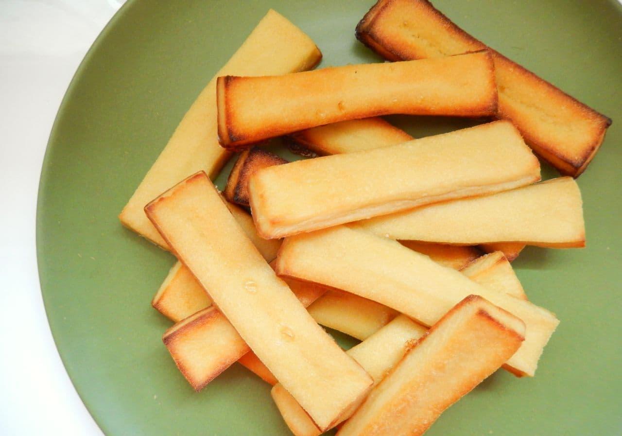 レシピ「高野豆腐のラスク」