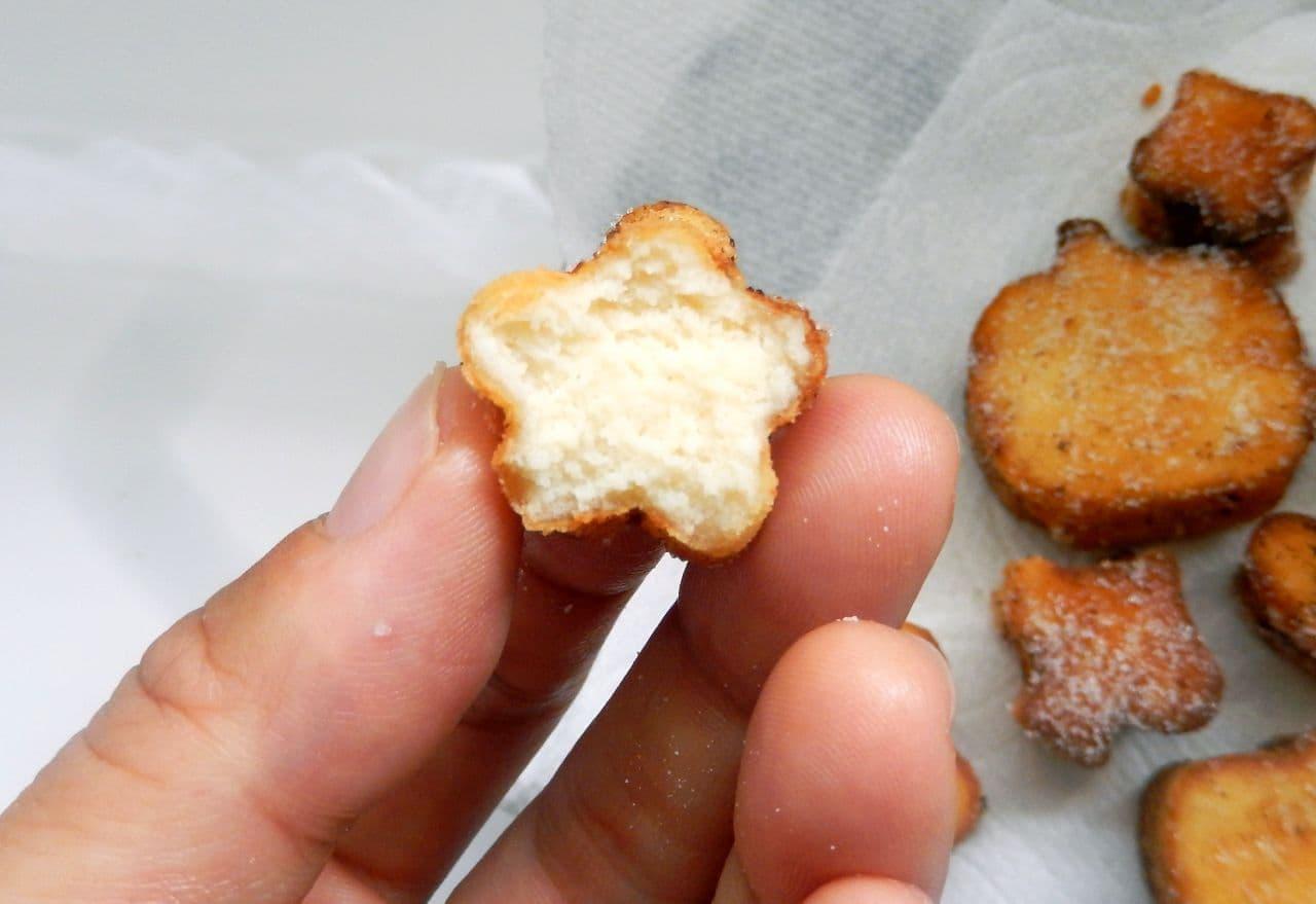 レシピ「高野豆腐ドーナツ」