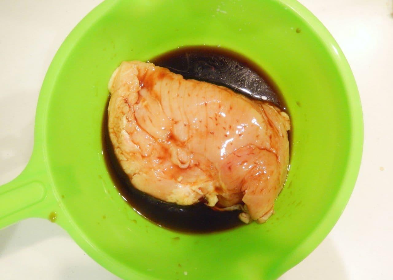 レンジで簡単「鶏チャーシュー」のレシピ