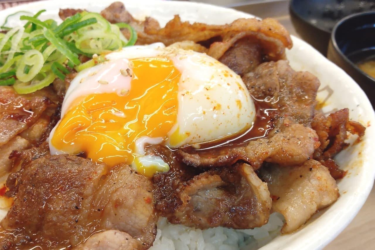 """【実食】松屋「""""お肉どっさり""""焼き牛めし」"""