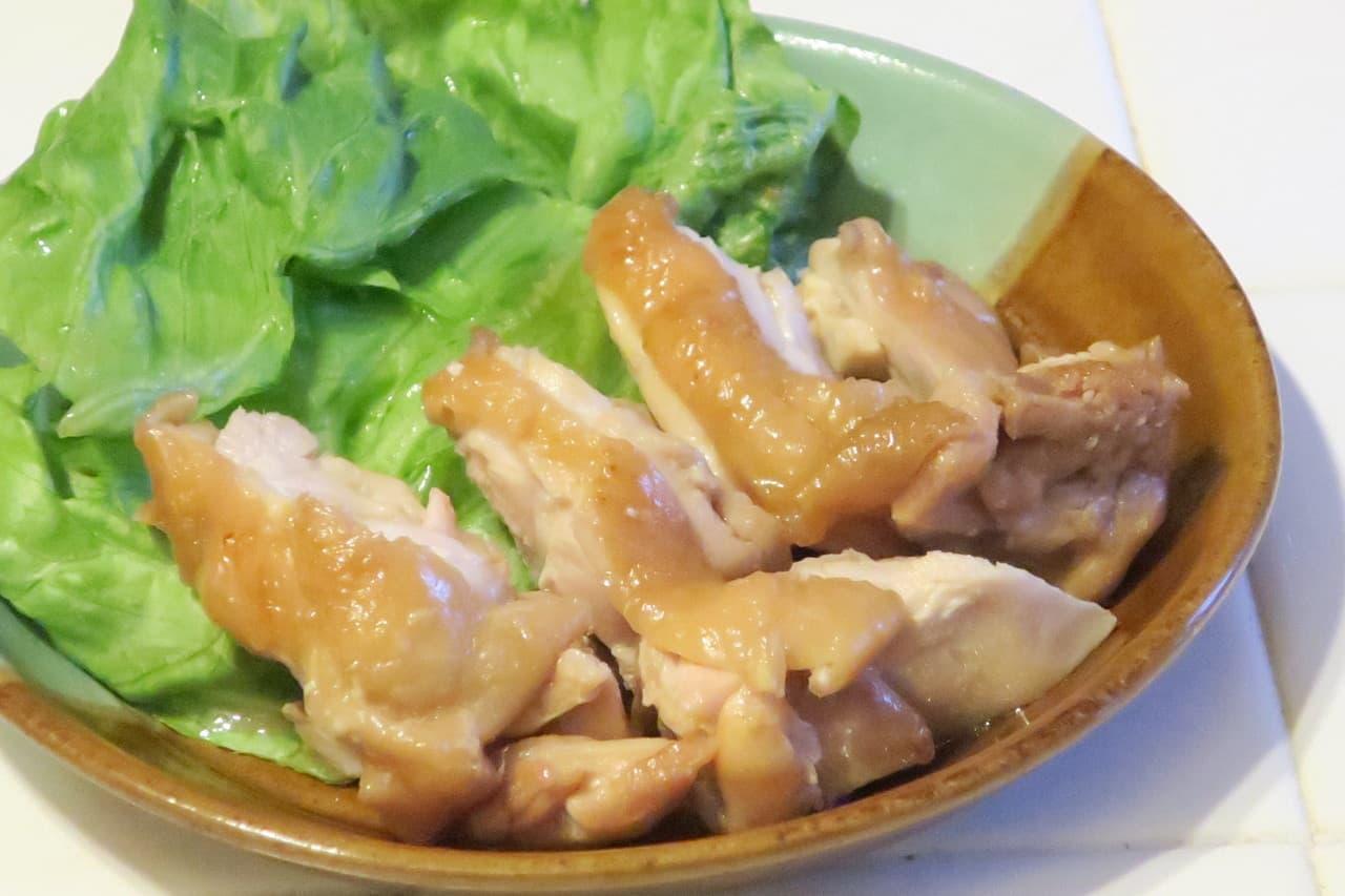 鶏肉の梅酒煮レシピ