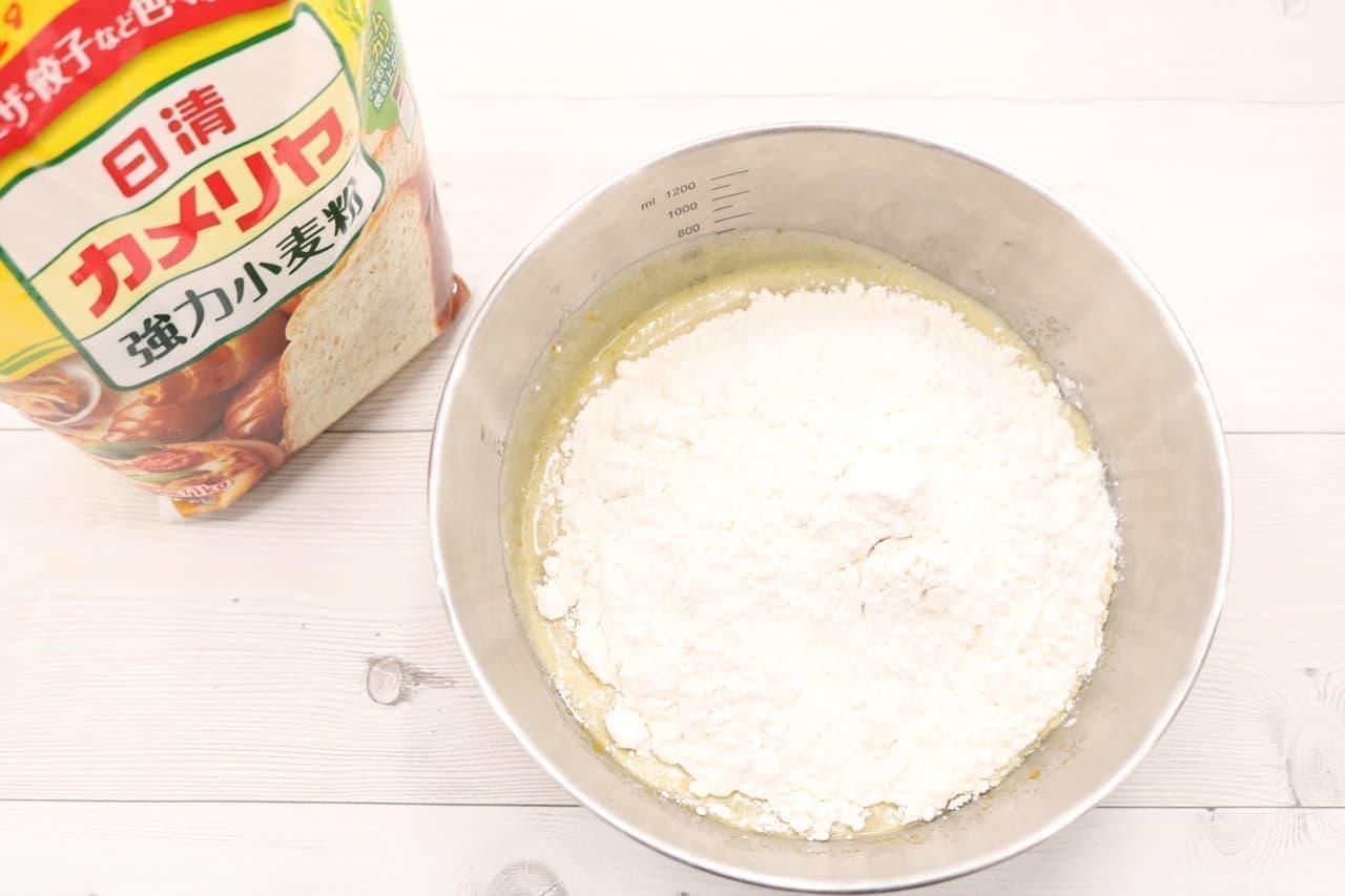 強力粉クッキーのレシピ