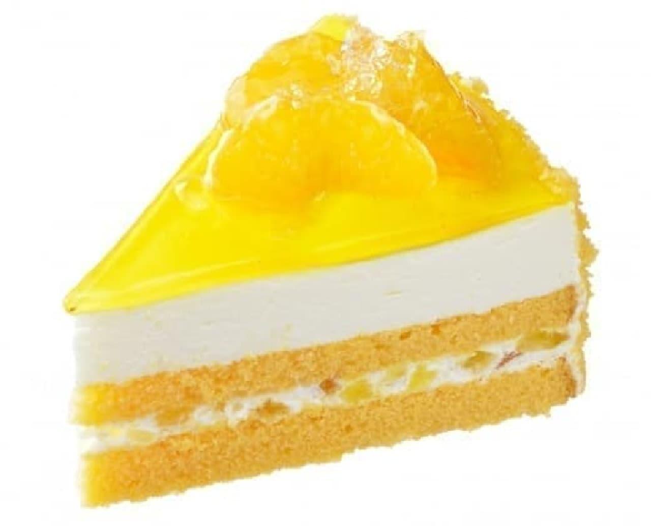 銀座コージーコーナー「清見オレンジのレアチーズ」