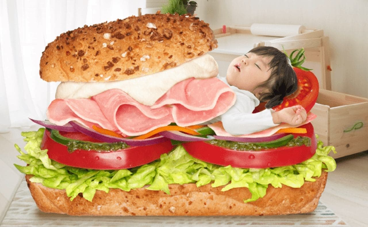 サンドイッチ型お布団「さぶとん」