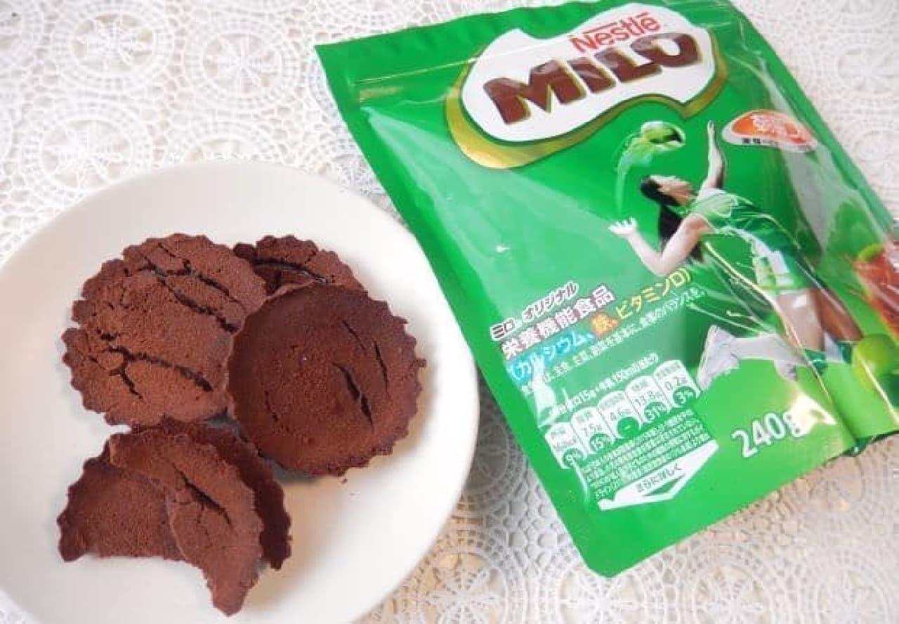 レシピ「ミロクッキー」