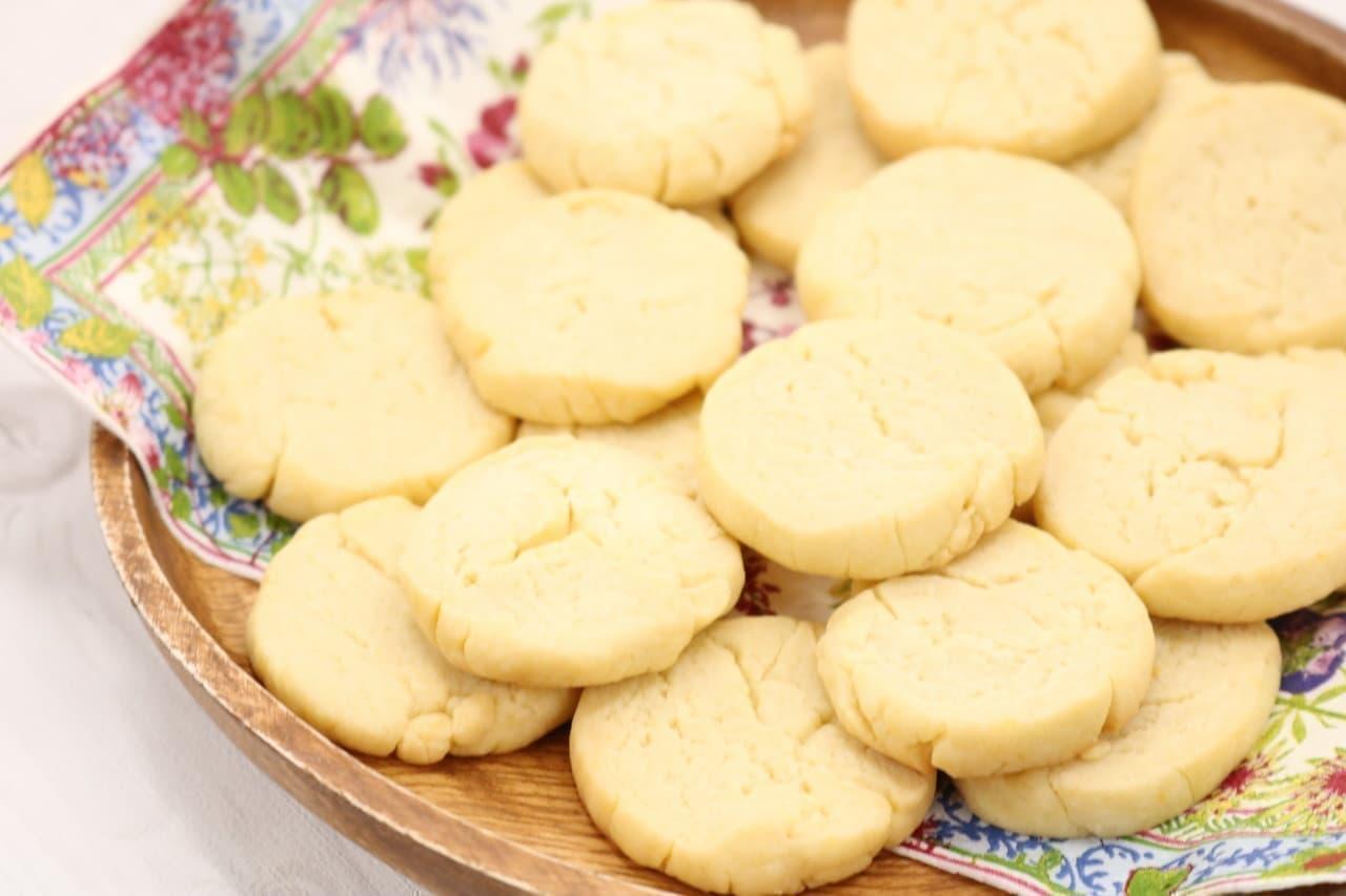 レシピ「強力粉クッキー」