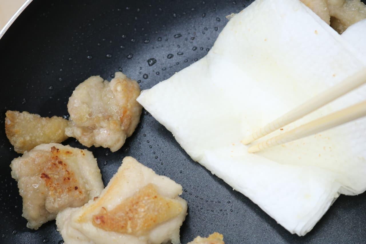 私のはちみつバターを使ったレシピ「はちみつバターの照焼きチキン」