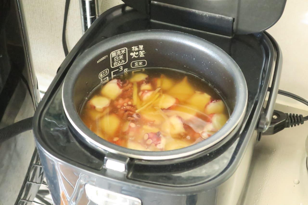 タコの炊き込みご飯