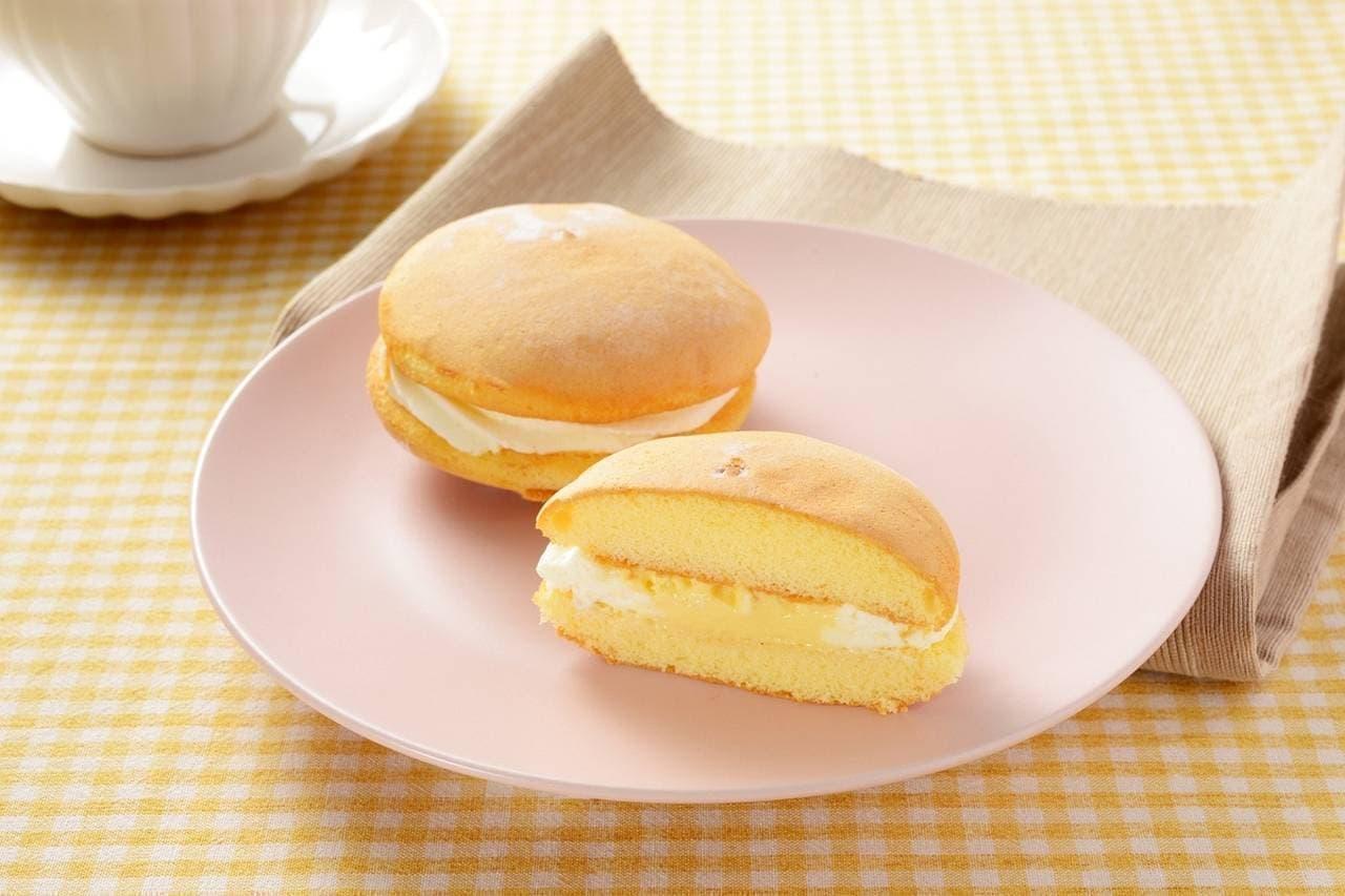 ローソン「生ブッセ -生ブッセ(チーズ&カスタード)-」
