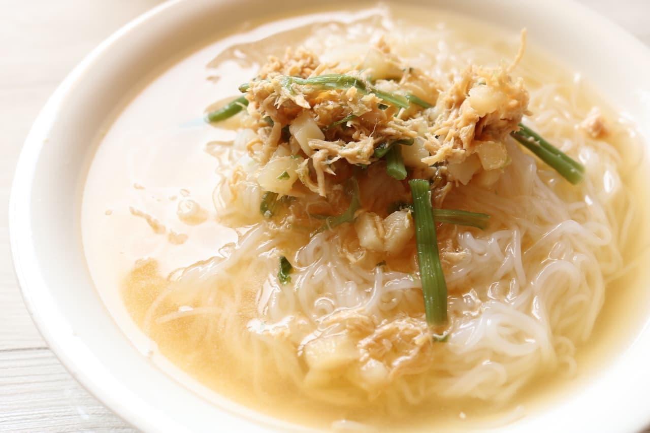 カルディ「麺にかけるだけ」シリーズの鶏ゆず胡椒