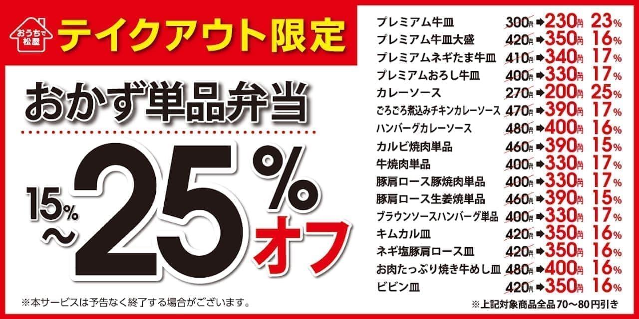 松屋のキャンペーン