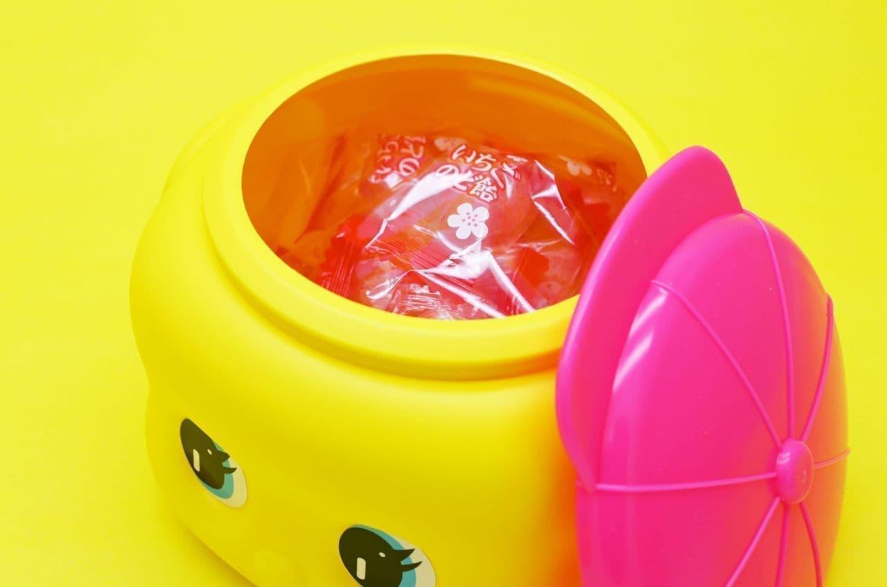 フエキあまおう果汁入りいちごのど飴