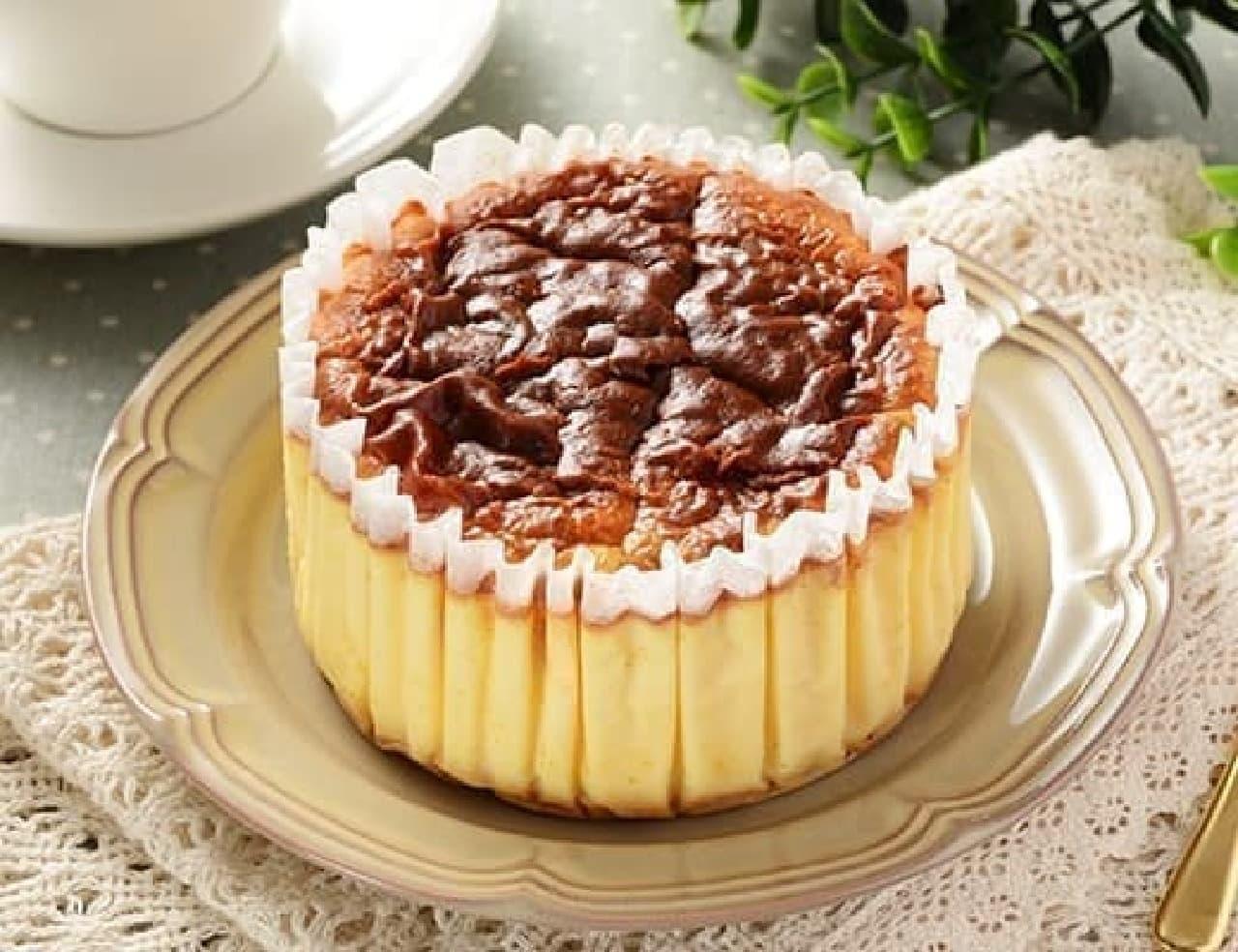 ローソン「ビッグバスチー -バスク風チーズケーキ-」