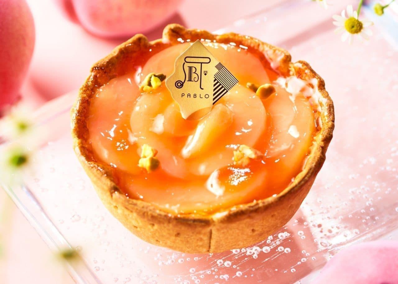 パブロ「白桃とヨーグルトのチーズタルト 小さいサイズ」