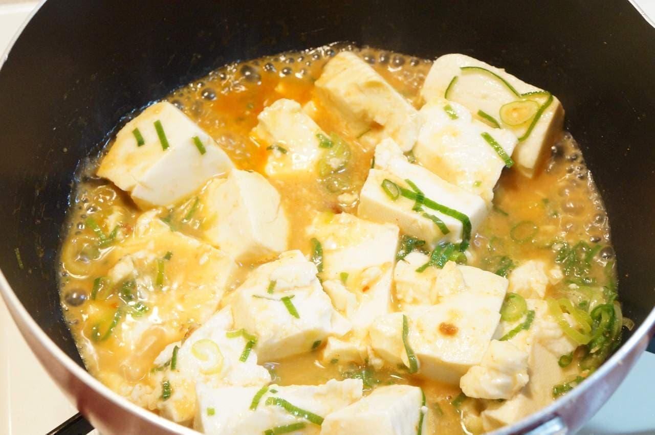 サバみそ麻婆豆腐