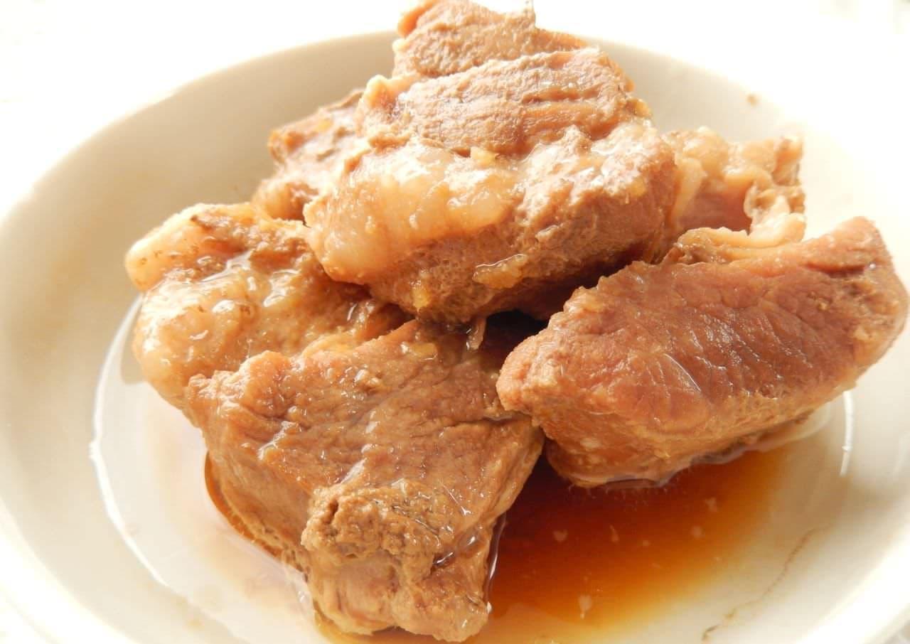 レシピ「豚の角煮」