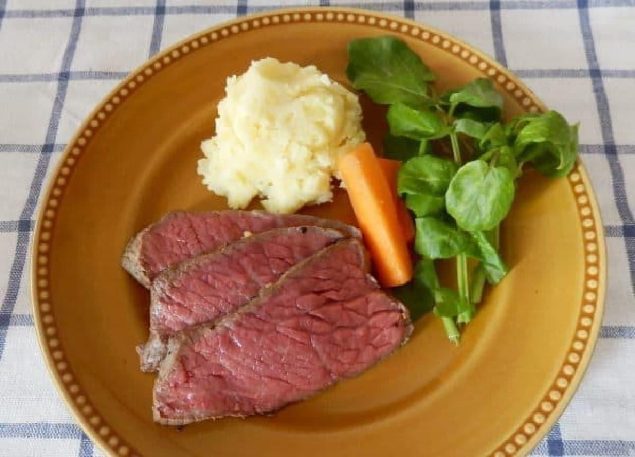レシピ「炊飯器ローストビーフ」