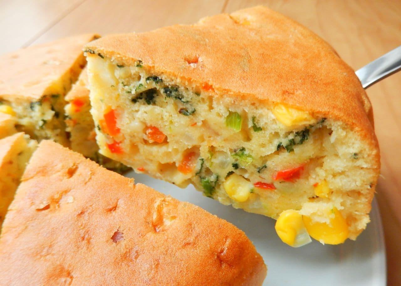 ホットケーキミックスと炊飯器で作る「ケークサレ」のレシピ