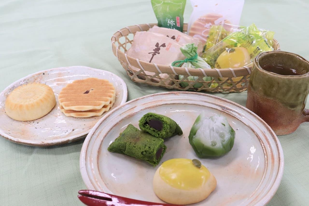 鼓月に「初夏の和菓子 お取り寄せセット」ネット限定で