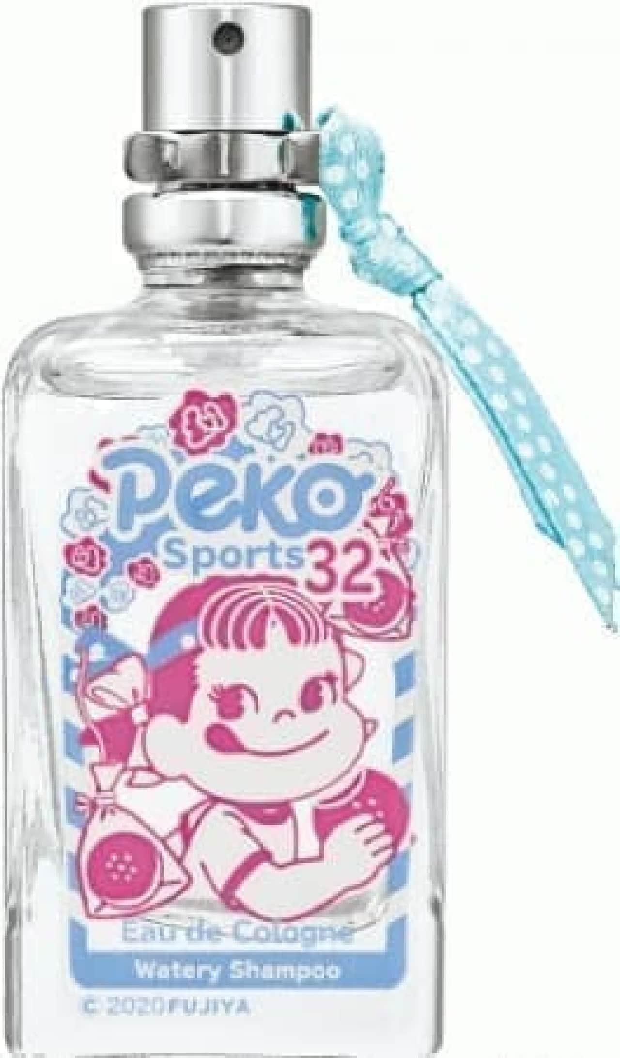 アクアシャボン × ペコちゃん運動会 ウォータリーシャンプーの香り
