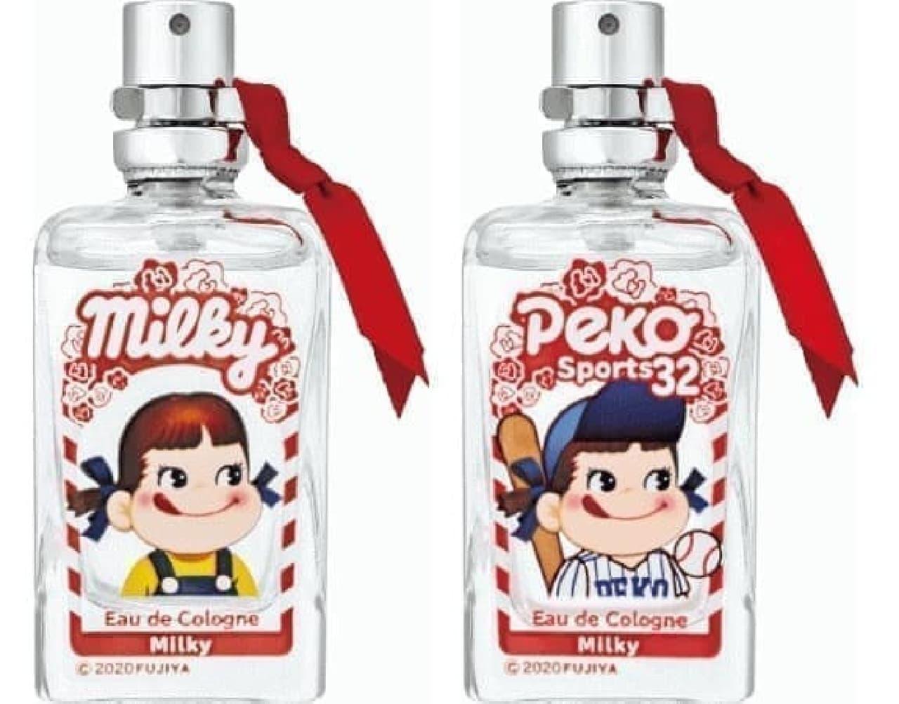 アクアシャボン × ペコちゃん運動会 コロン ミルキーの香り
