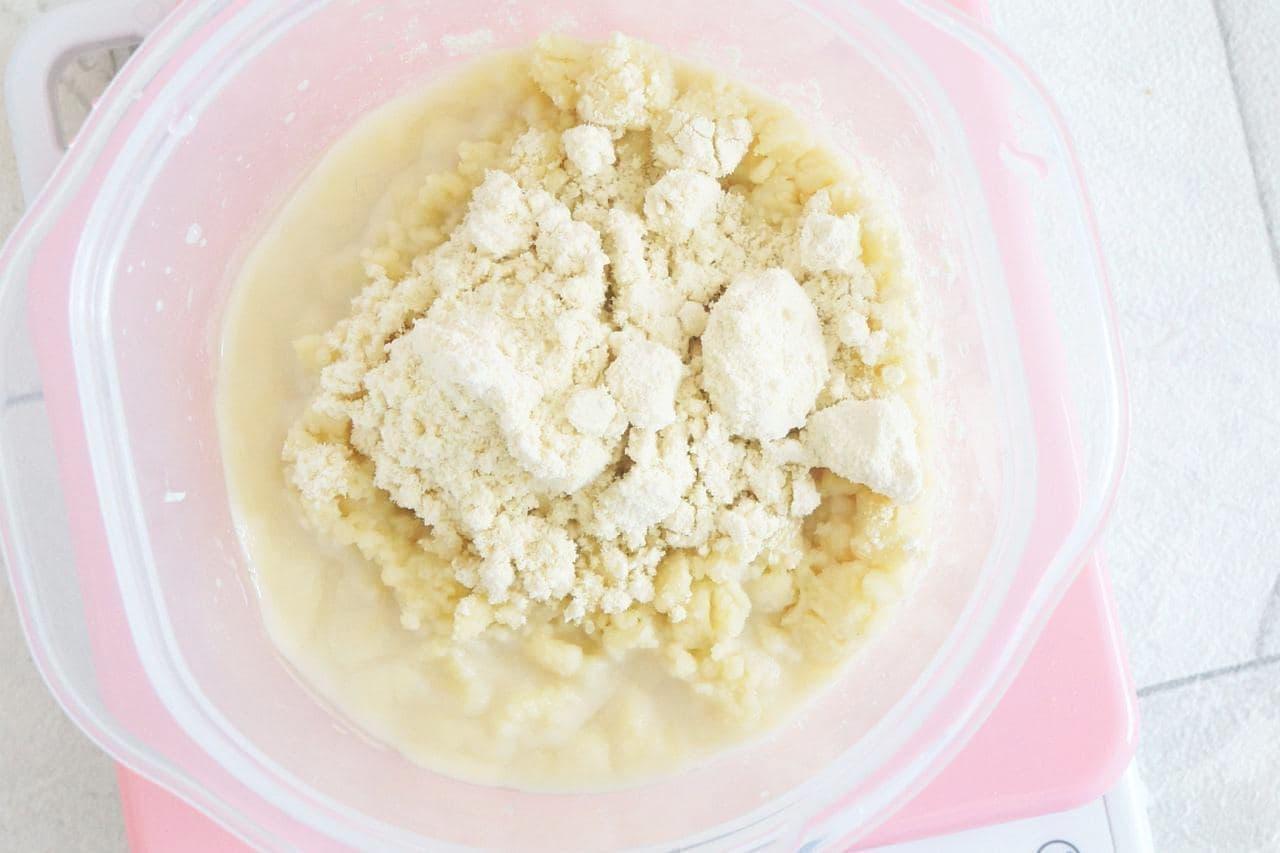 おからパウダーと豆乳