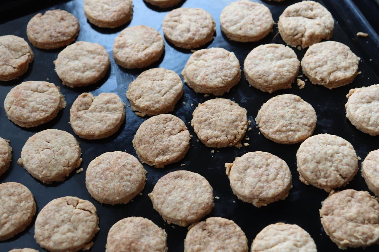 ジンジャークッキーのレシピ