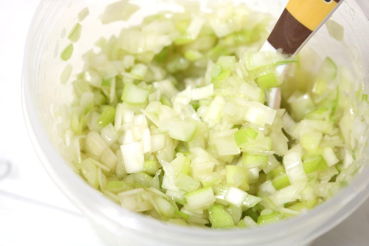 簡単レシピ「万能ねぎ塩だれ」