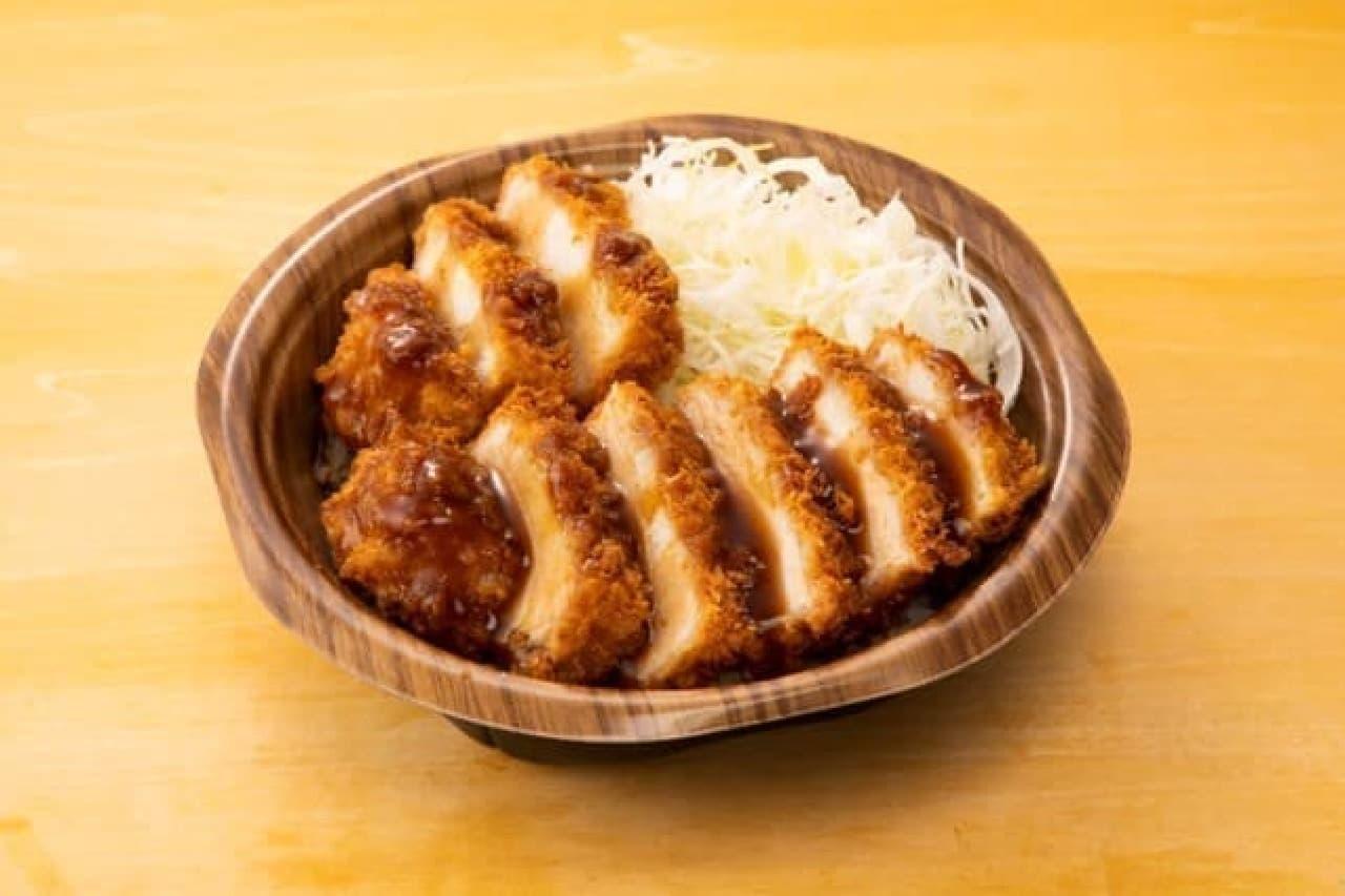 ローソンの串カツ田中ソースカツ丼(三元豚ロース)