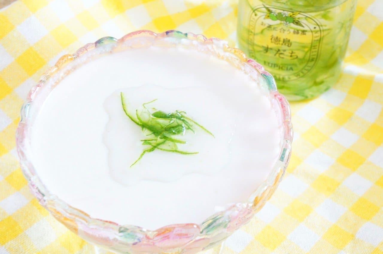 ルピシア「お茶に合う蜂蜜」をかけたスイーツ