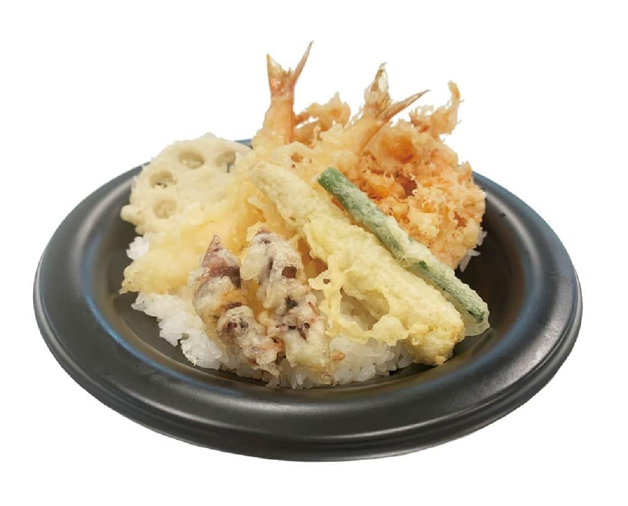 和食さと「季節の特選天丼」