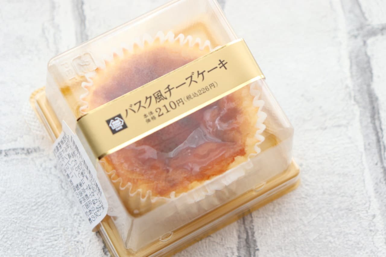 コンビニのバスクチーズケーキ比較