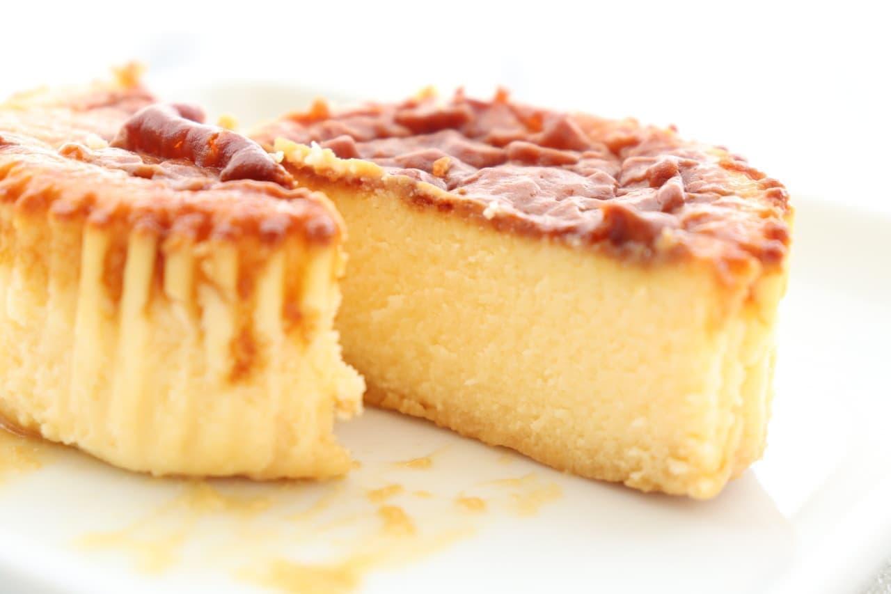 コンビニ バスクチーズケーキ