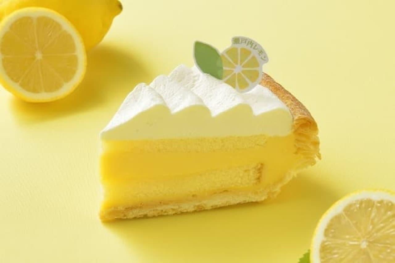 銀座コージーコーナー「瀬戸内レモンのパイ」