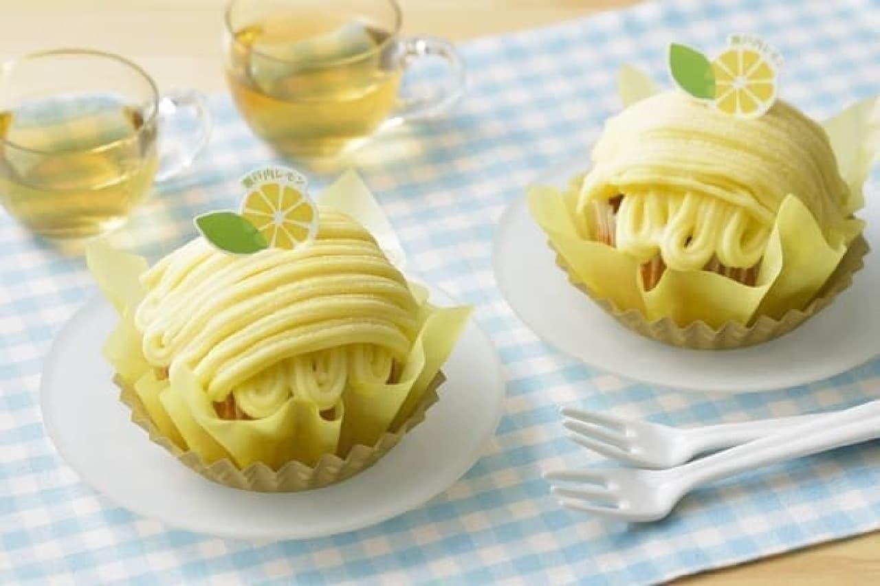 銀座コージーコーナー「レモンブラン(瀬戸内レモン)」