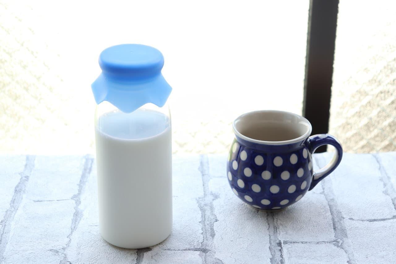 キャンドゥ ミルク瓶型ドリンクボトル