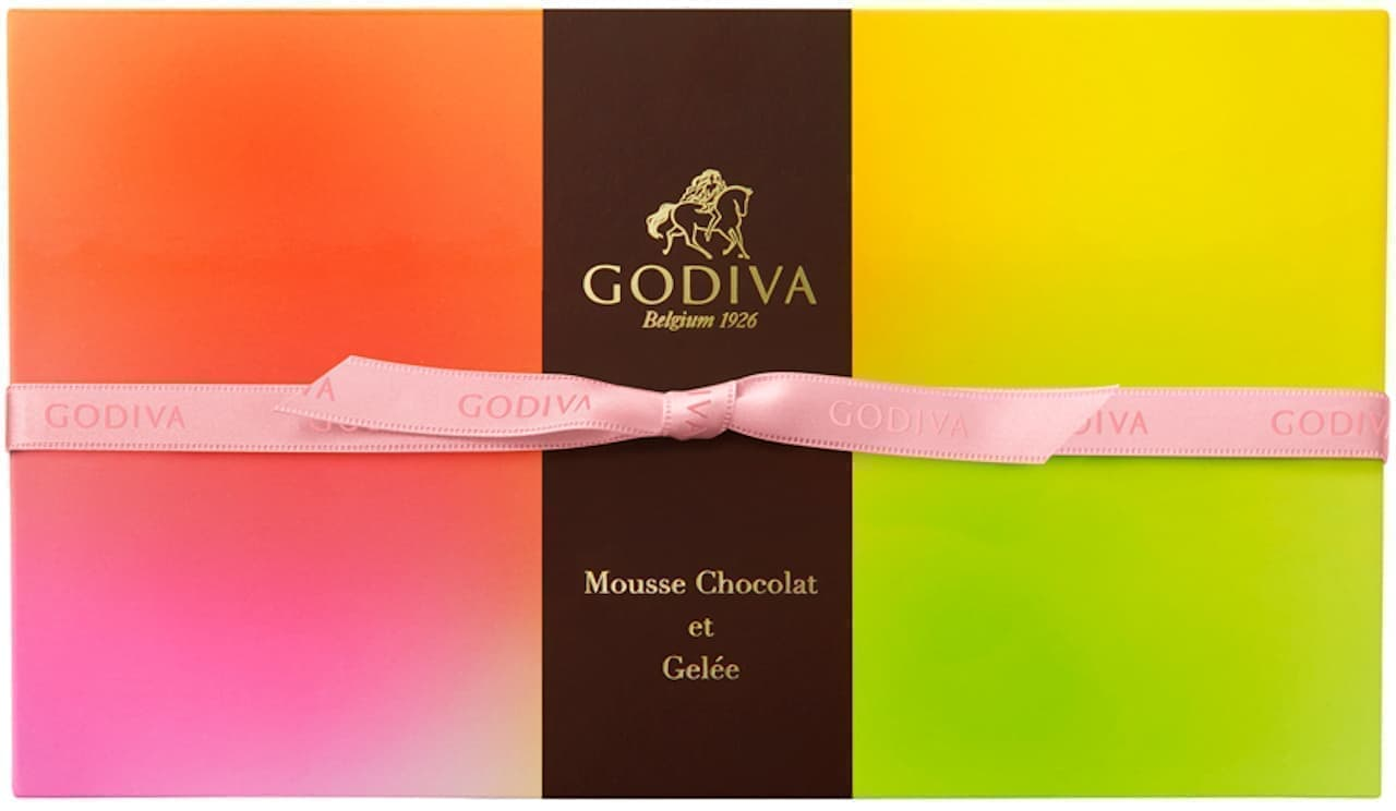ゴディバの冷たいスイーツ「ムースショコラ エ ジュレ」
