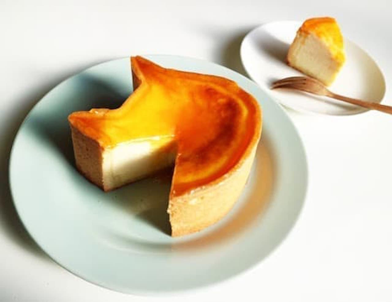 ねこの形のチーズケーキ専門店「ねこねこチーズケーキ」