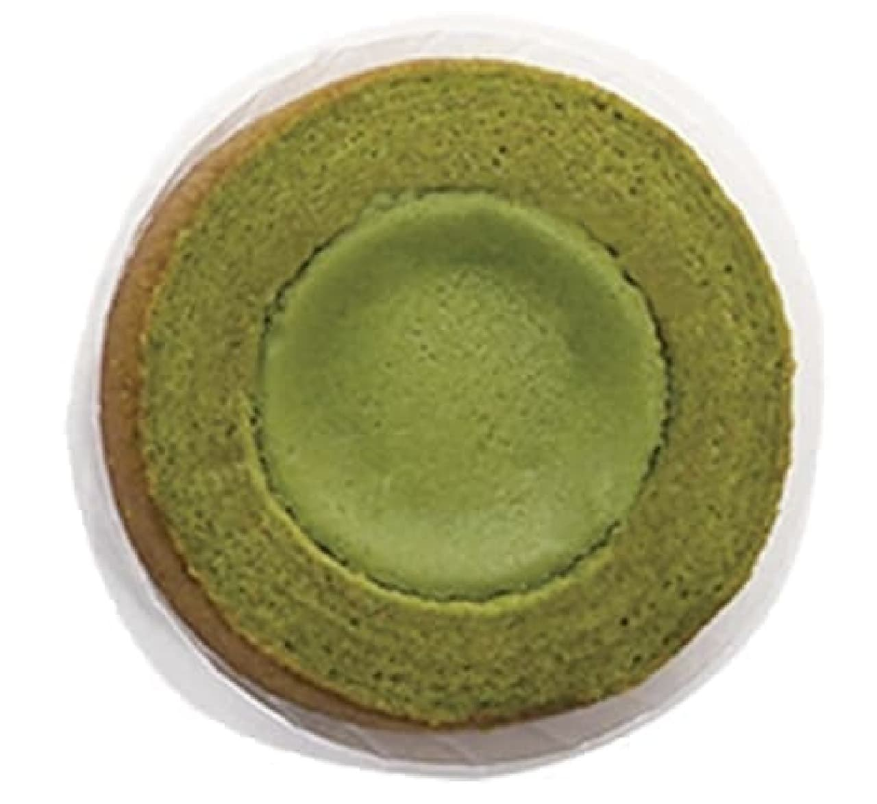 ファミリーマート「旨み抹茶チーズケーキバウム」