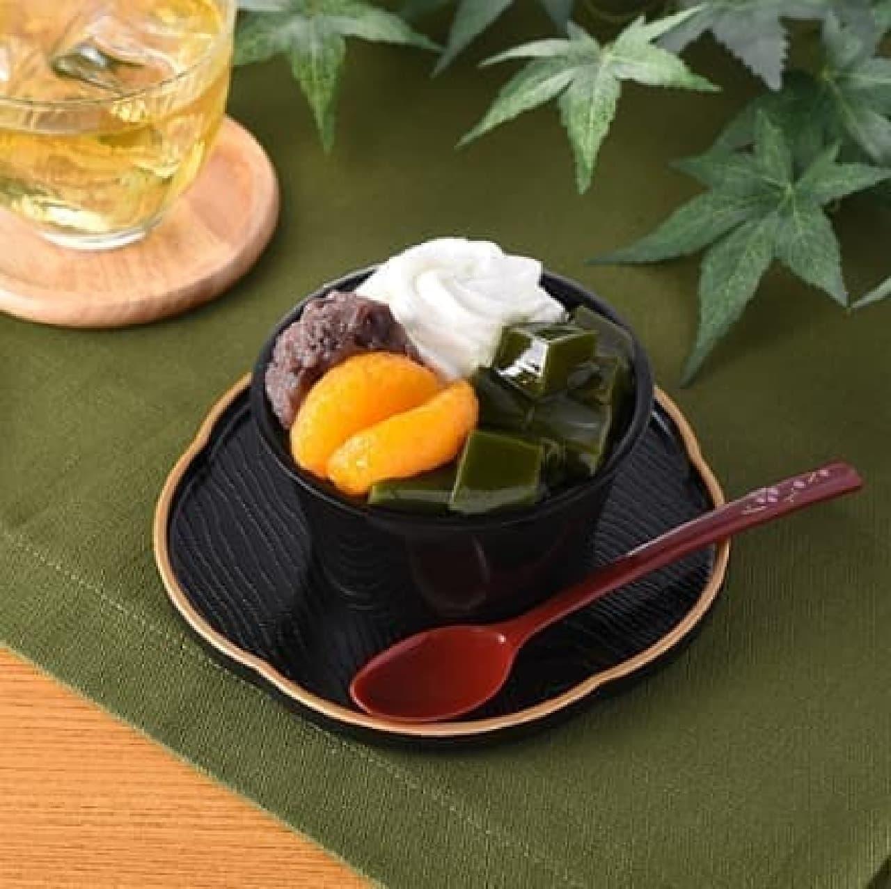 ファミリーマート「旨み抹茶のパフェ」
