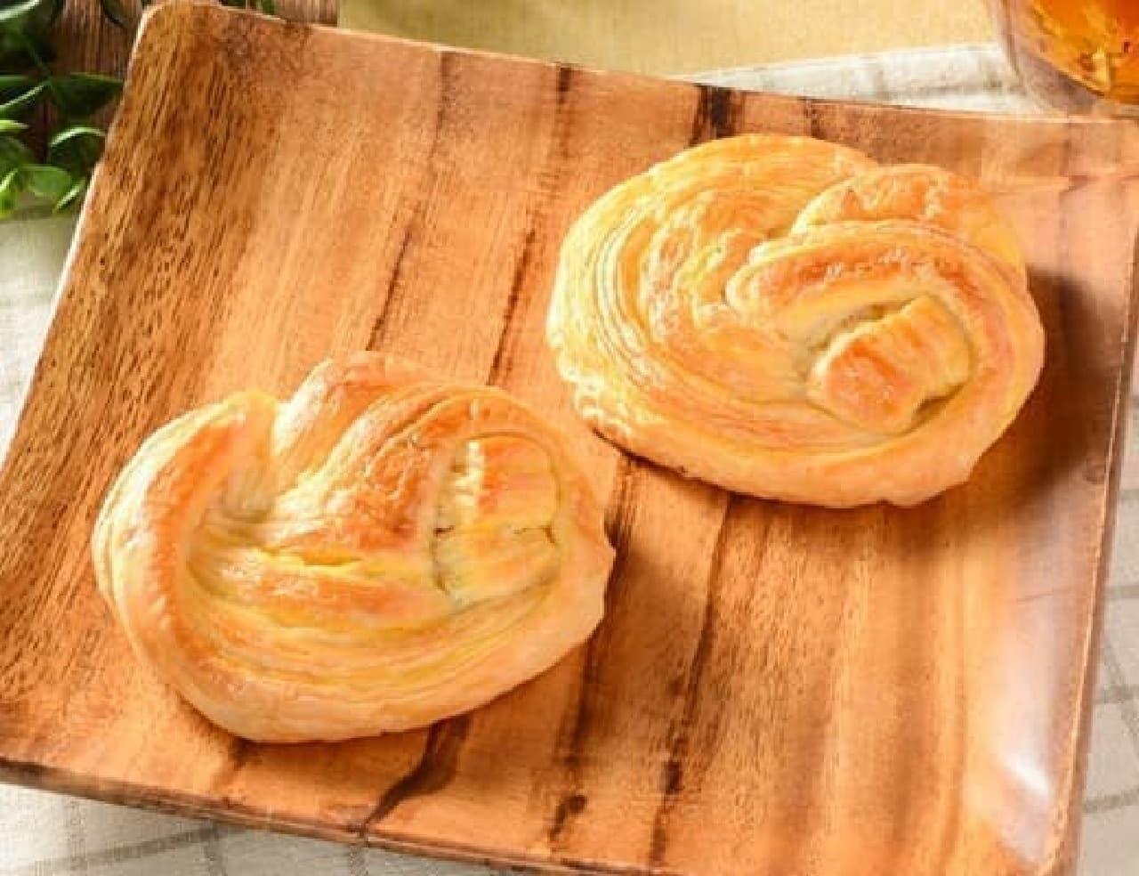 ローソン「 NL 大麦のチーズデニッシュ 2個入」