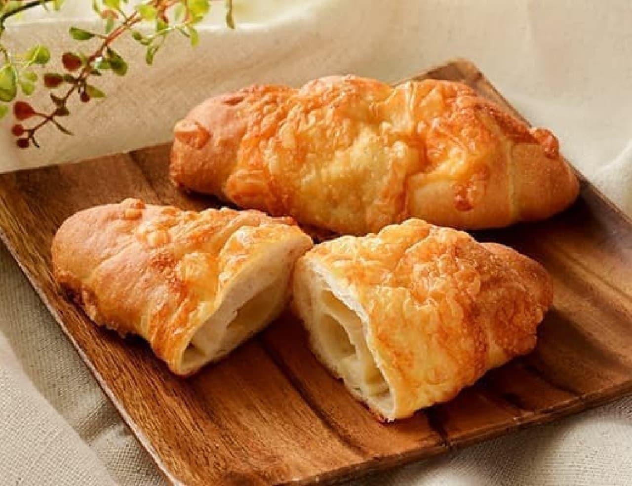 ローソン「マチノパン 塩バターチーズパン」