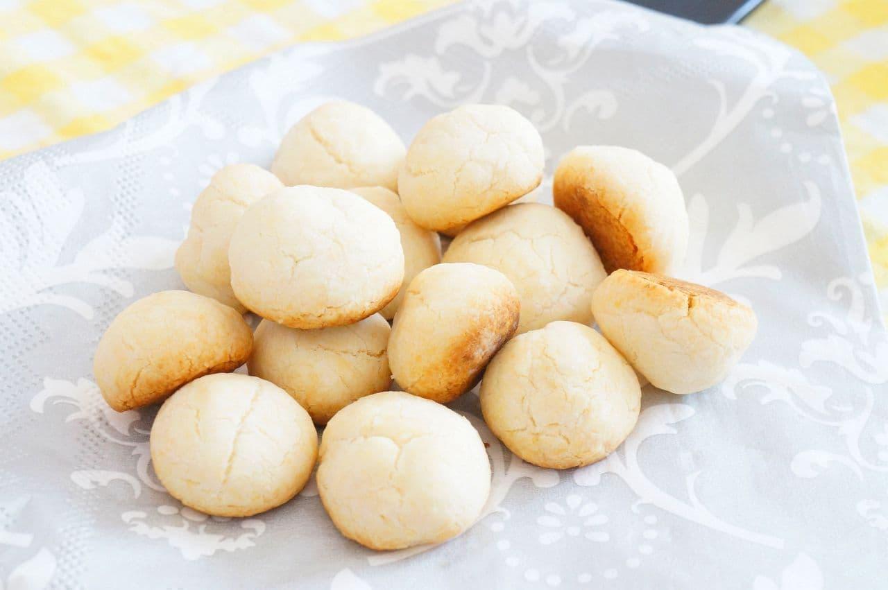小麦粉不要の「片栗粉クッキー」