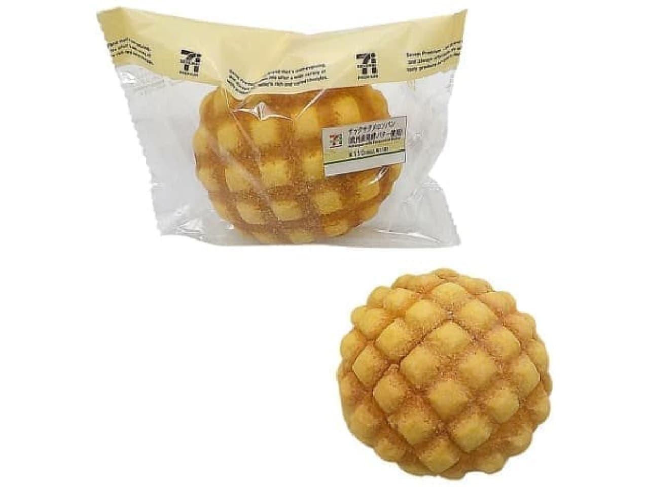 セブン-イレブン「サックサクメロンパン(欧州産発酵バター使用)」